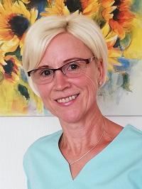 Unsere ausgebildete Physiotherapeutin - Frau Wolf